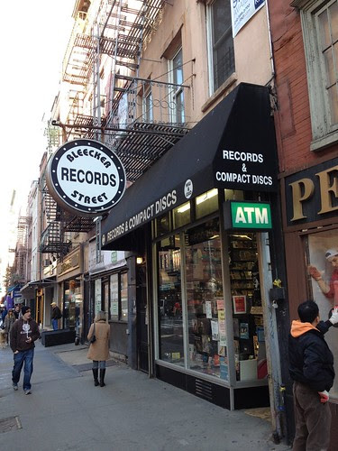 Record Store Visit: Bleecker Street Records - New York, NY - 11/21/12 by Tim PopKid