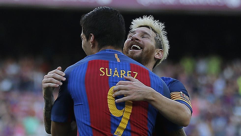Messi y Suárez fueron los goleadores ante el Betis y quieren volver a ver puerta en San Mamés