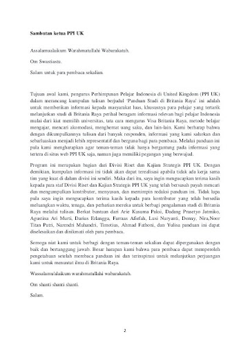 Contoh Surat Motivasi Kuliah Contoh Surat