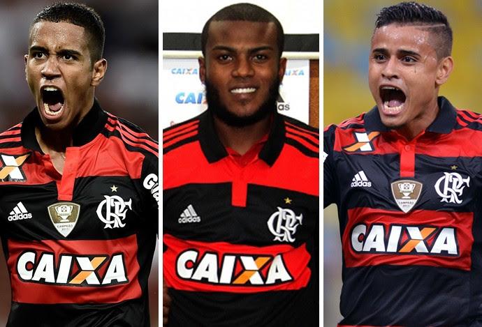 montagem MARCELO CIRINO, EVERTON E GABRIEL (Foto: GloboEsporte.com)