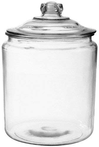 Anchor Hocking 85545r 1/2 Gallon Glass Heritage Jar (Pack