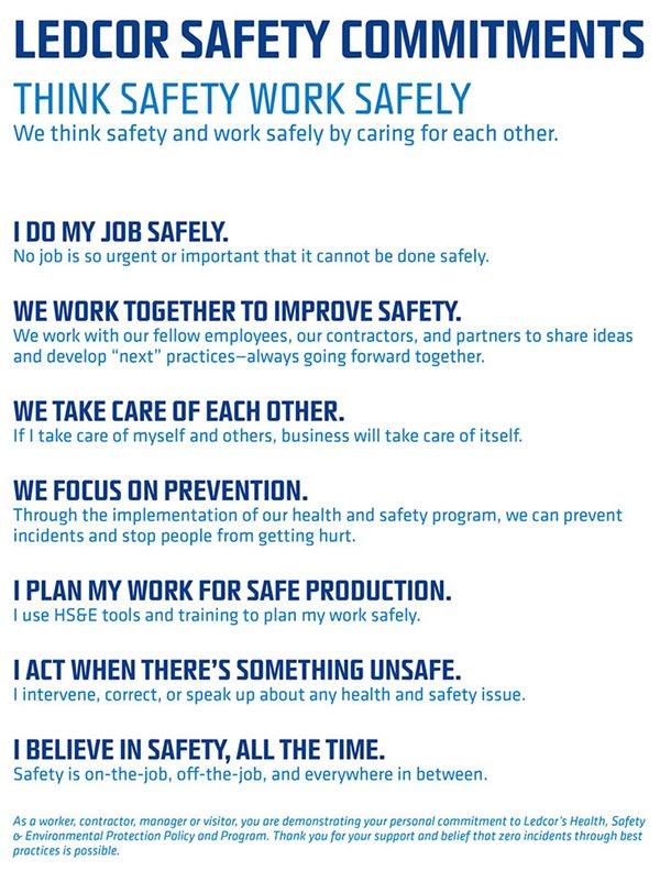 Safety   Who We are   Ledcor Group