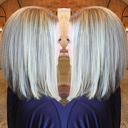 21 Long Bob Haircut Back And Side View Important Style