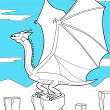 Dibujos Para Colorear Dragones 41 Dibujos De Fantasia Para