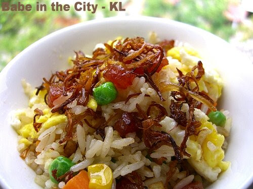 Chinese sausages Fried Rice