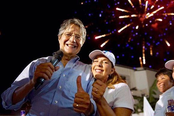 La hipocresía marca la campaña presidencial de Guillermo Lasso. Foto: @LassoGuillermo.