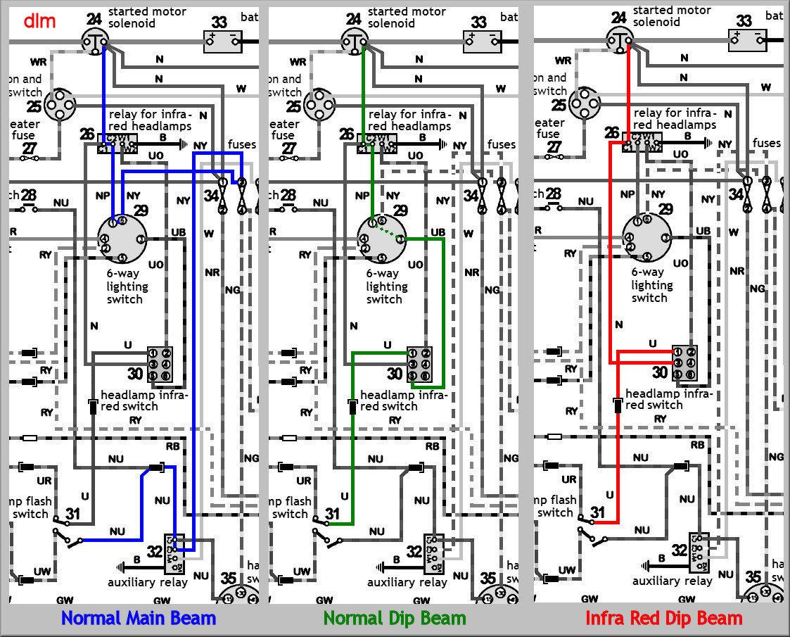 Land Rover Series 3 Wiring Diagram