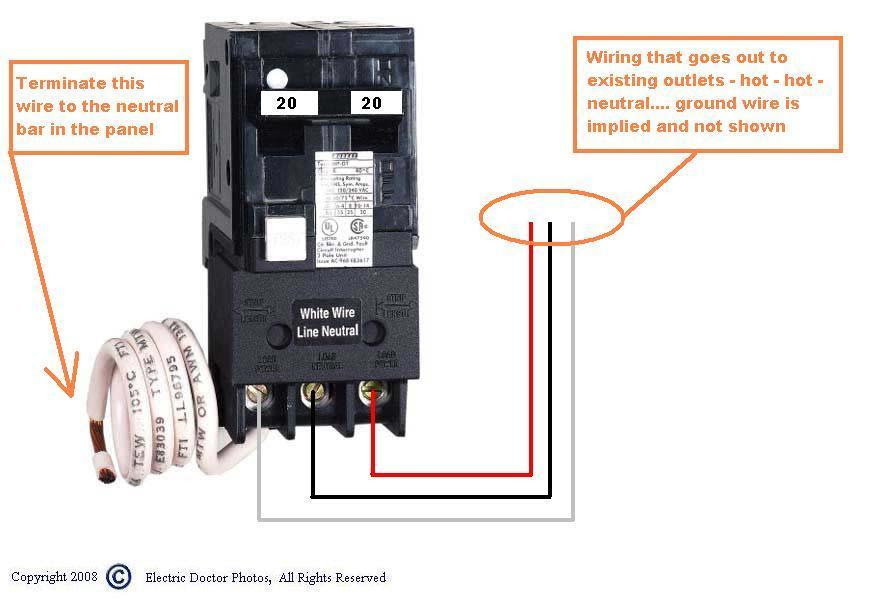 Wiring Diagram For 220 2 Pole Switch Gota Wiring Diagram