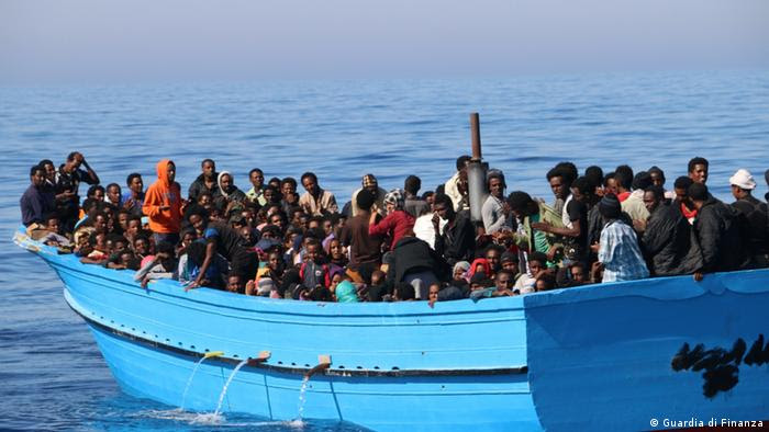 Italien Grenzschutz im Mittelmeer (Guardia di Finanza)