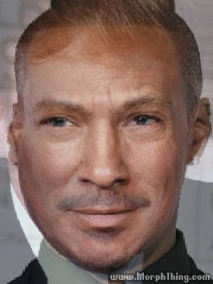 Donald Trump's Face Combined with Eddie Murphy -