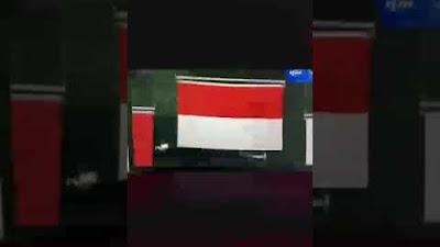 Video, detik detik bendera Merah Putih berkibar pada Olimpiade Tokyo 2020 cabang olahraga bulu tangkis