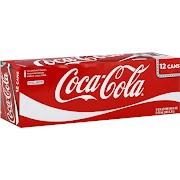 Coca-Cola - 12 pack, 12 fl oz cans