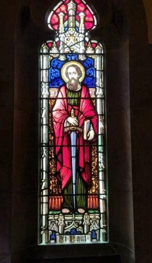 St Pauls Church Windows Recognizing Gods Providence In Stained