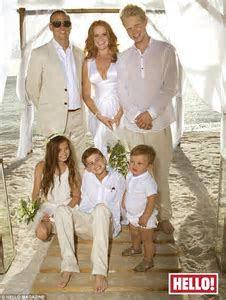 Patsy Palmer finally gets a white wedding as she renews