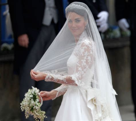 Sarah Burton Designed Kate Middleton's Wedding Dress