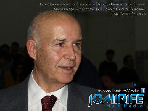 José Gomes Canotilho - Professor catedrático da Faculdade de Direito da Universidade de Coimbra, Administrador não Executivo da Fundação Calouste Gulbenkian