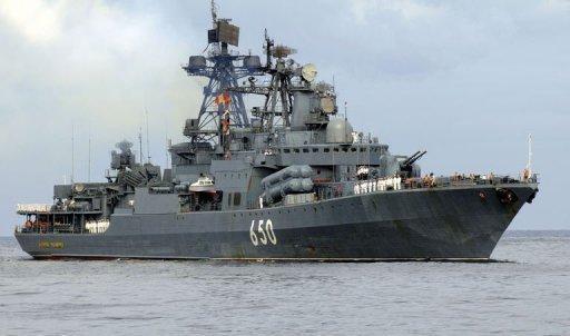 Navio russo.