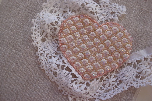 Heart with lace