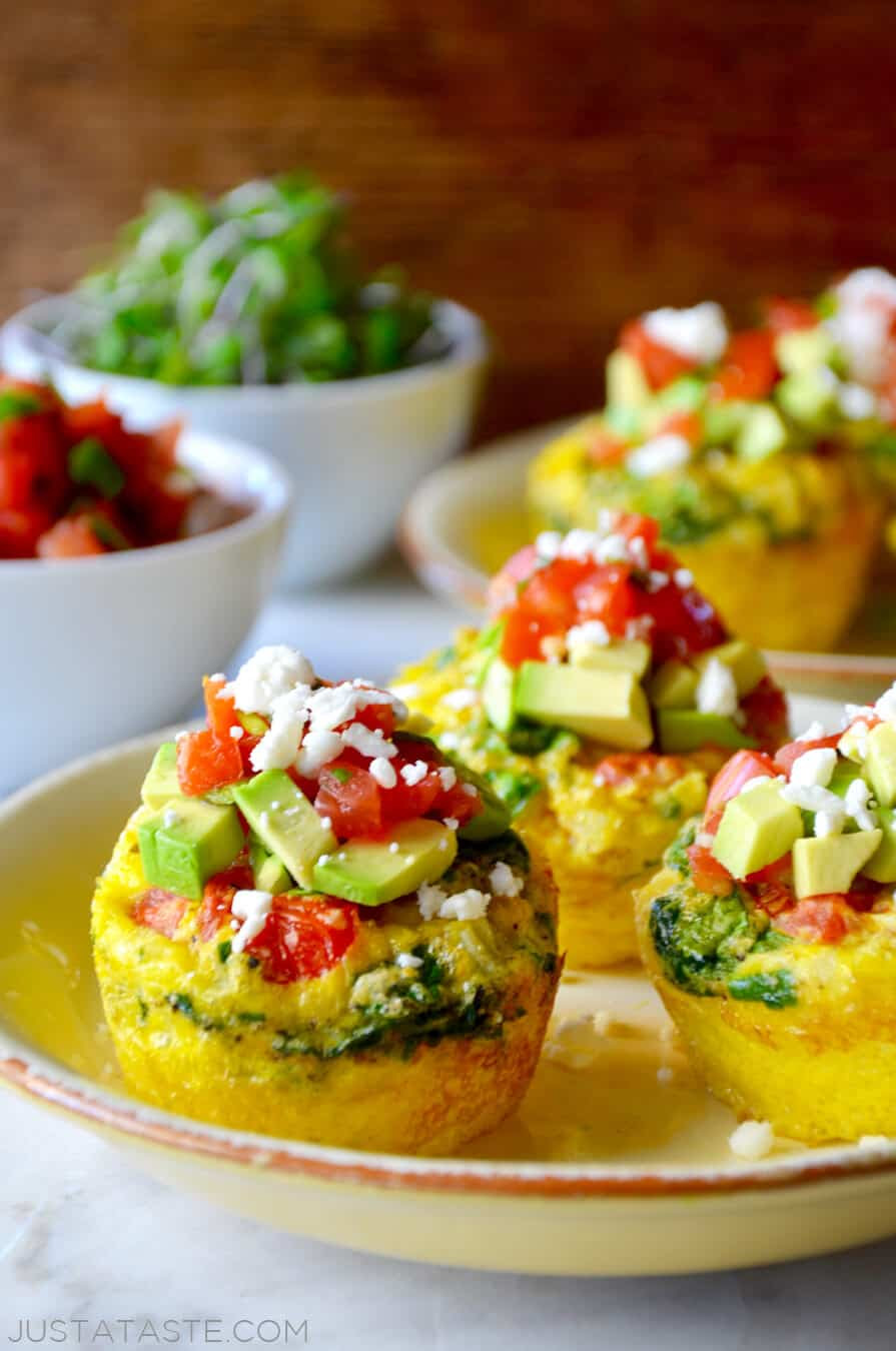 Just a Taste | Healthy Breakfast Egg Muffins