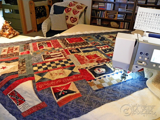 DSCN1986 Gettysburg Battle Flag quilt