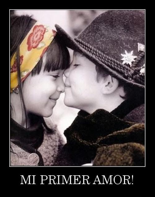 Imagenes De Ninos Enamorados Con Frases Lindas Imagui