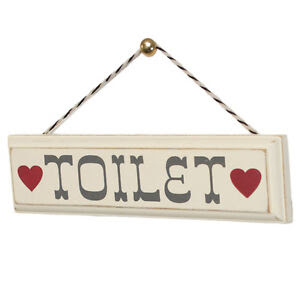 & Plaques Signs Decor > > toilet Home, Home DIY Furniture & rustic  sign