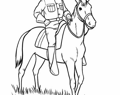 Rough Riders Drawing Easy