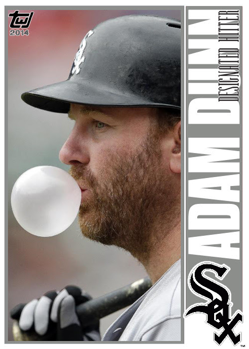 twjcards:<br /><br />Card #149 Adam Dunn<br />The Writer's Journey<br />