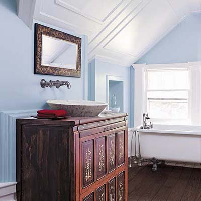 Old-Time Accents in a Beautiful Bath | Steal Ideas From ...