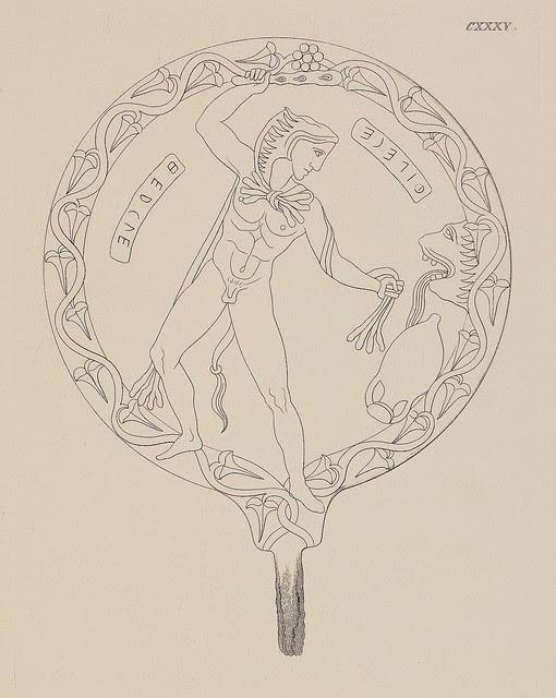 Etruskische Spiegel by Eduard Gerhard, 1840s c