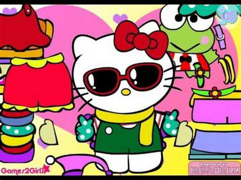 Hello Kitty Dress Up Game   Free Game   YouTube