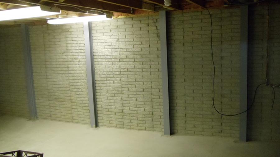 Basement Wall Bracing