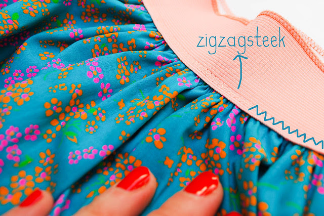 how to make an easy gathered skirt with elastic waistband