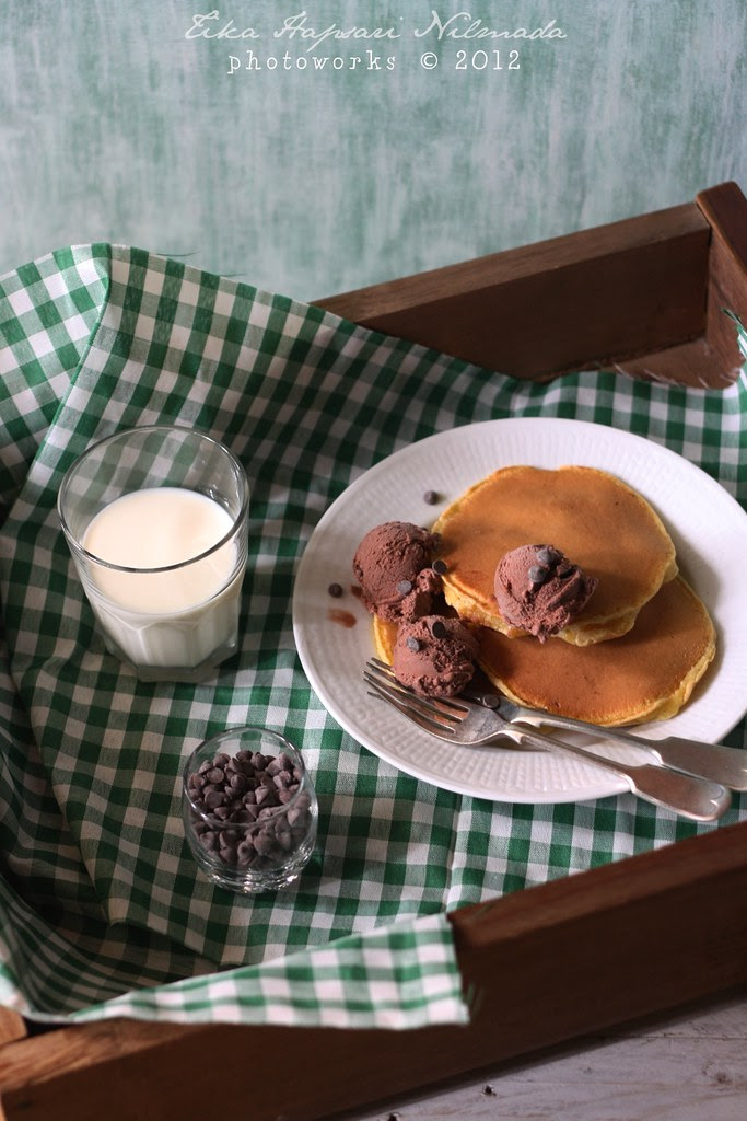 (Homemade) - Simple pancake