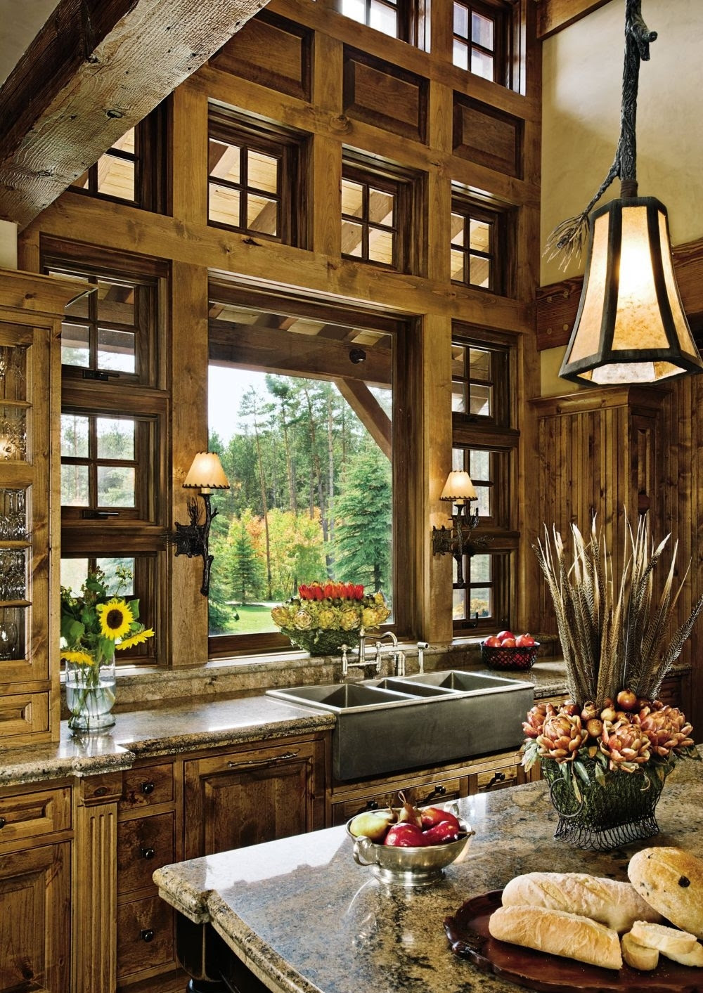 Sweet Country Rustic Kitchen Idea - Designed to Own ...