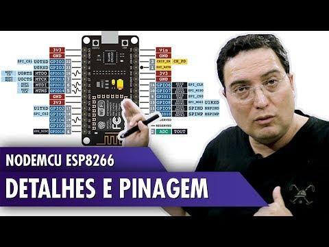 NodeMCU ESP8266: Detalhes e Pinagem
