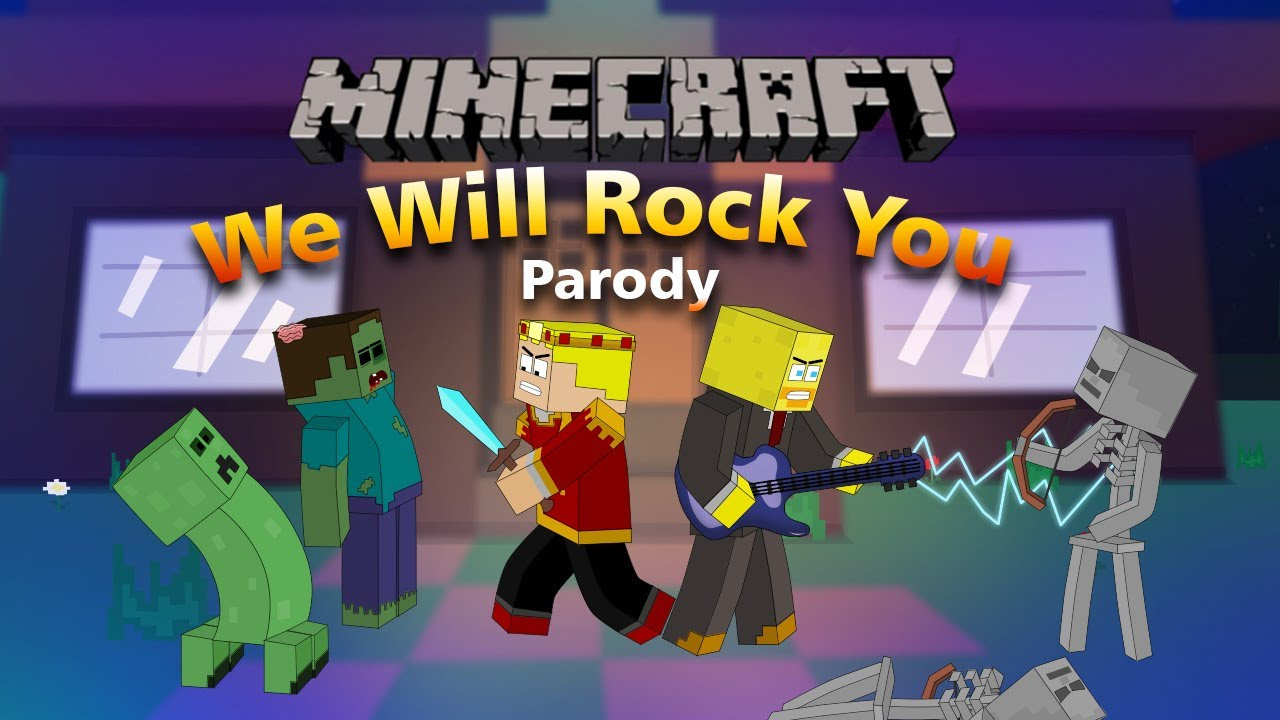 """""""We Will Find You"""" Minecraft Parody Of We Will Rock You By Queen! (Music Video) - YouTube"""