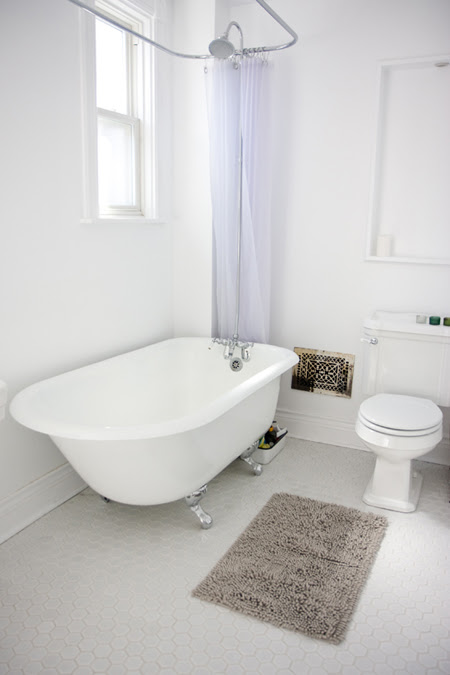 the bathroom - after