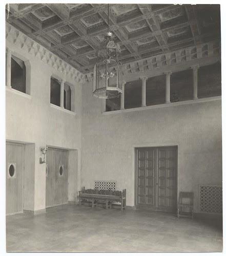 Figueroa Playhouse Lobby, c. 1925