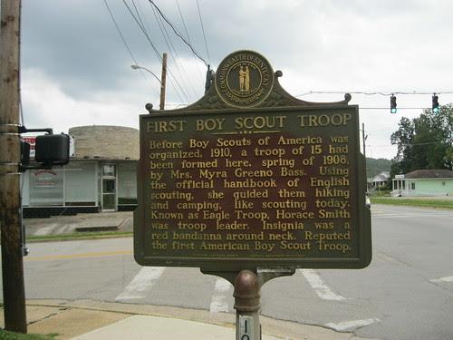 Boy Scouts Historic Marker - Burnside, Ky.