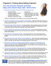 Preventing Infections in Pregnancy Fact Sheet