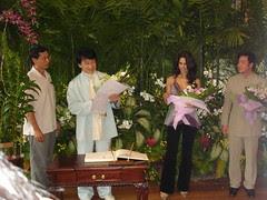 Jackie Chan, Mallika Sherawat and Stanley Tong