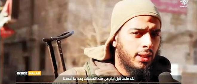 Le djihadiste français Salim Benghalem.