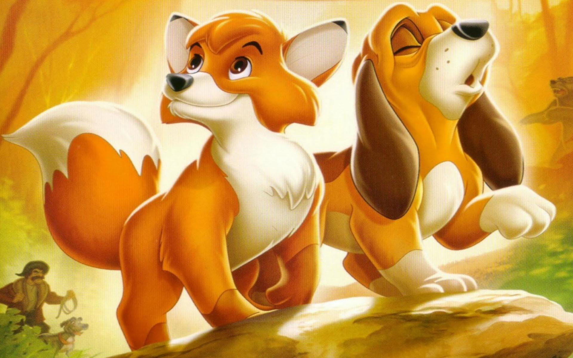 The Fox And The Hound The Fox And The Hound Wallpaper 41515280