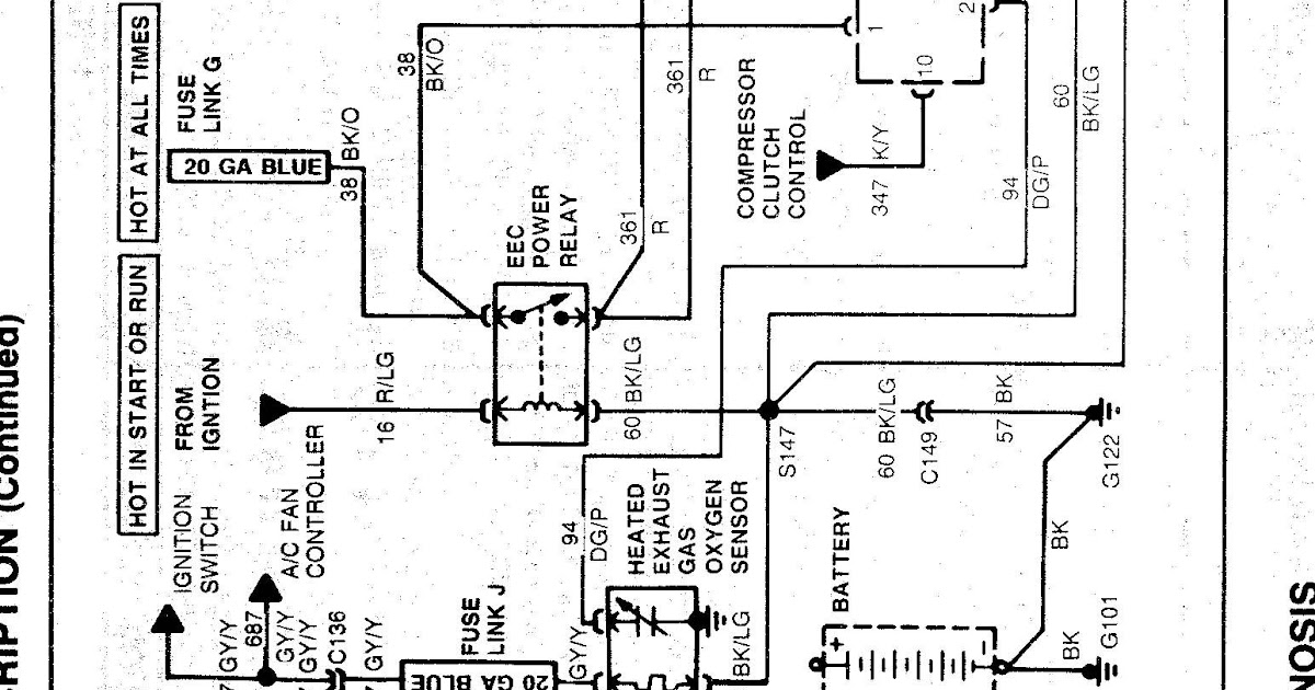 Ford Taurus Charging System Wiring Diagram | schematic and ...