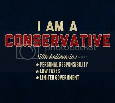 I AM PROUD TO BE CONSERVATIVE!