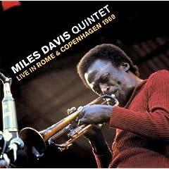 Miles Davis Live in Rome & Copenhagen 1969 cover