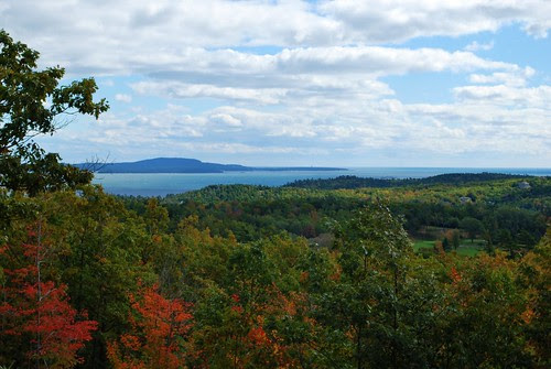 View from Acadia NP