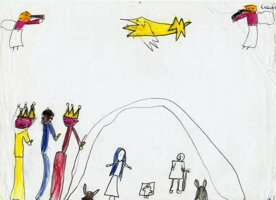 Dibujo Por Temas La Navidad 1