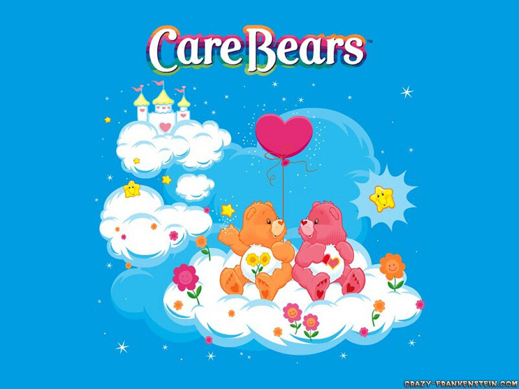 Group Of Care Bears Wallpaper High Resolution